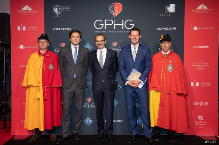 Palmarès 2019 du Grand Prix d'Horlogerie de Genève GPHG