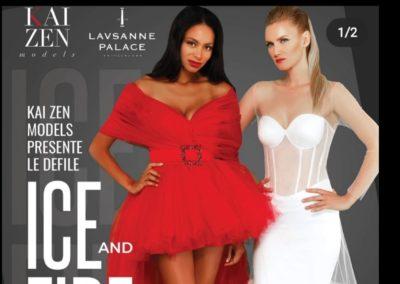 ICE AND FIRE Kai Zen Lausanne Palace Fashion Show_ (3)